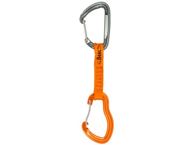 Beal Pulp Expresse Quickdraw 11cm, naranja/Plateado